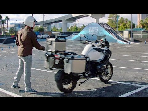 BMW Autonomous Bike – DEMONSTRATION