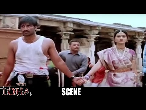 Loha The Iron Man Hindi Dubbed Movie Climax Scene - Gopi Chand, Gowri Pandit - Eagle Hindi Movies