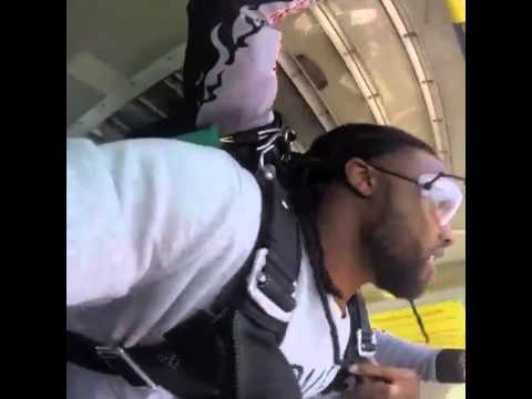 Broncos defensive back Omar Bolden Skydiving