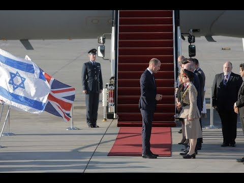 Prince William makes first official royal visit to Israel   ITV News