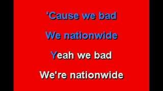 ZZ Top - I'm Bad, I'm Nationwide - Karaoke