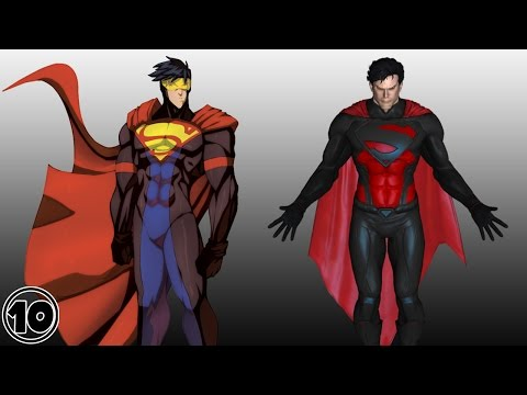 Top 10 Alternate Versions Of Superman