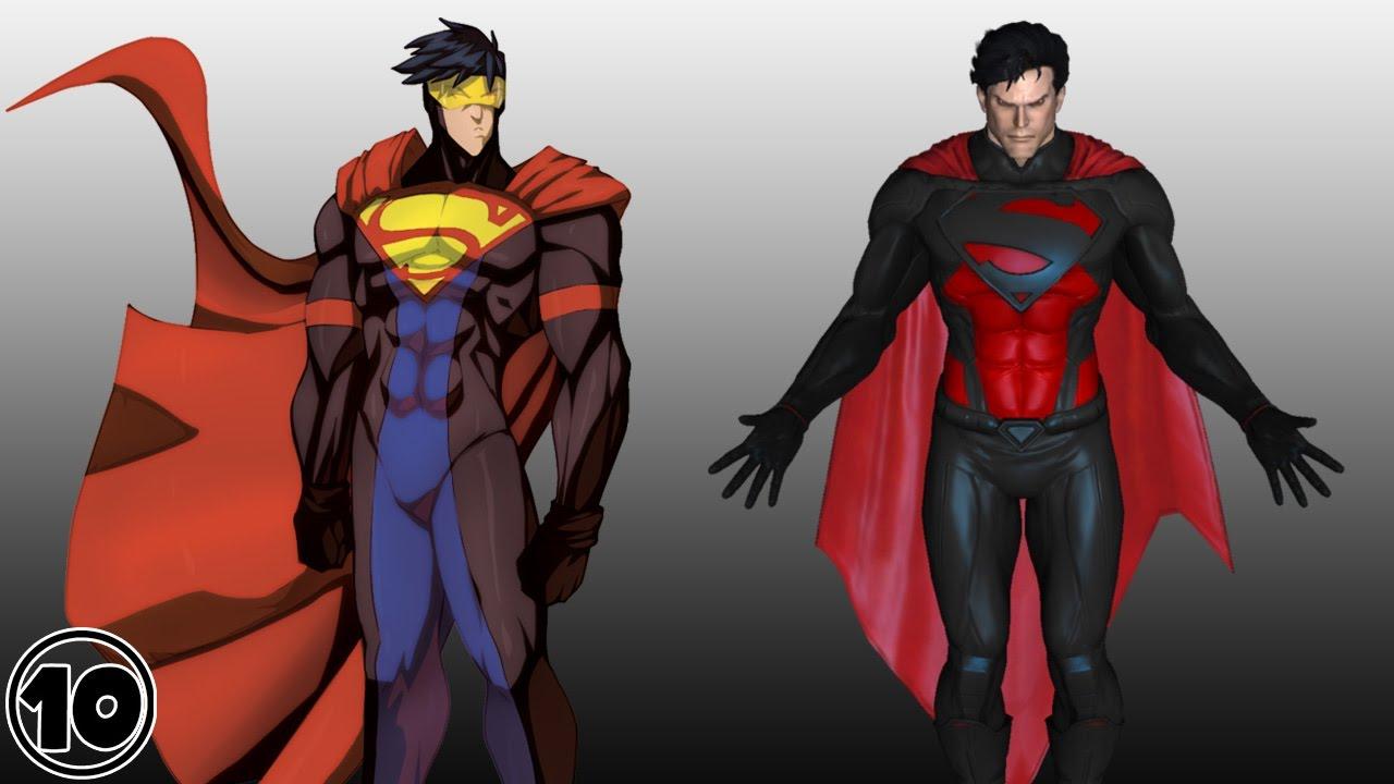 Top 10 Alternate Versions Of Superman  YouTube