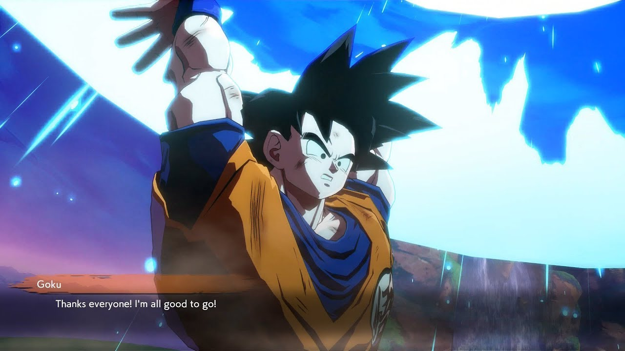 saiyan dragon goku fighterz mod apk android 1