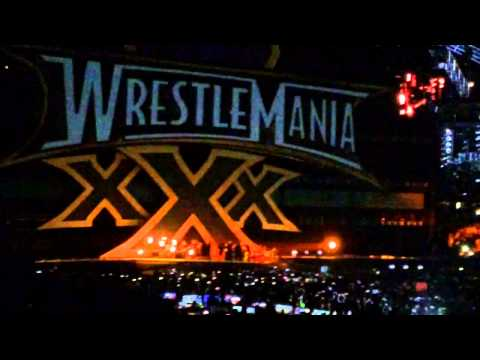 Bray Wyatt Entrance WrestleMania XXX (Live)