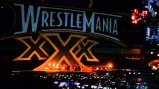 Bray Wyatt Entrance WrestleMania XXX (Live)