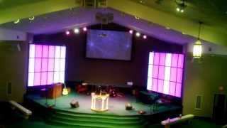LED Light Strip Panel Wall Project for Church