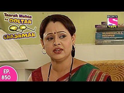 Taarak Mehta Ka Ooltah Chashmah - तारक मेहता - Episode 850 - 21st November, 2017