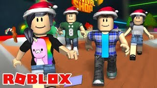 THE WAR FOR CHRISTMAS ORNAMENTS! 🎄 Ft. Jr and Mi-Roblox (Super Bomb Survival)