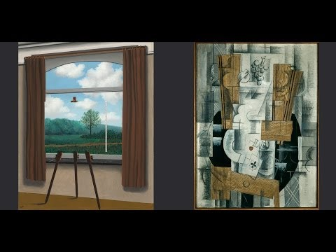 Magritte and Braque in Houston