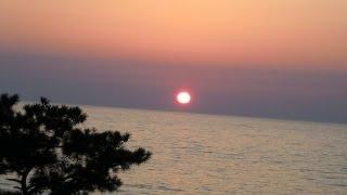 2013.4.13 日本海です。最近ミサイルを発射すると言う国がある...