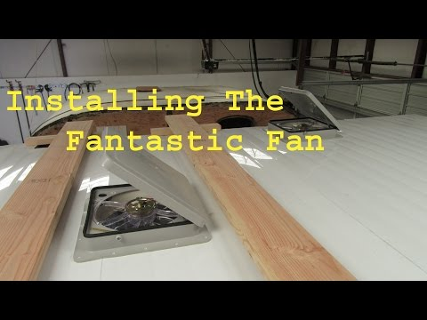 Installing The Fantastic Fan Ceiling Vent
