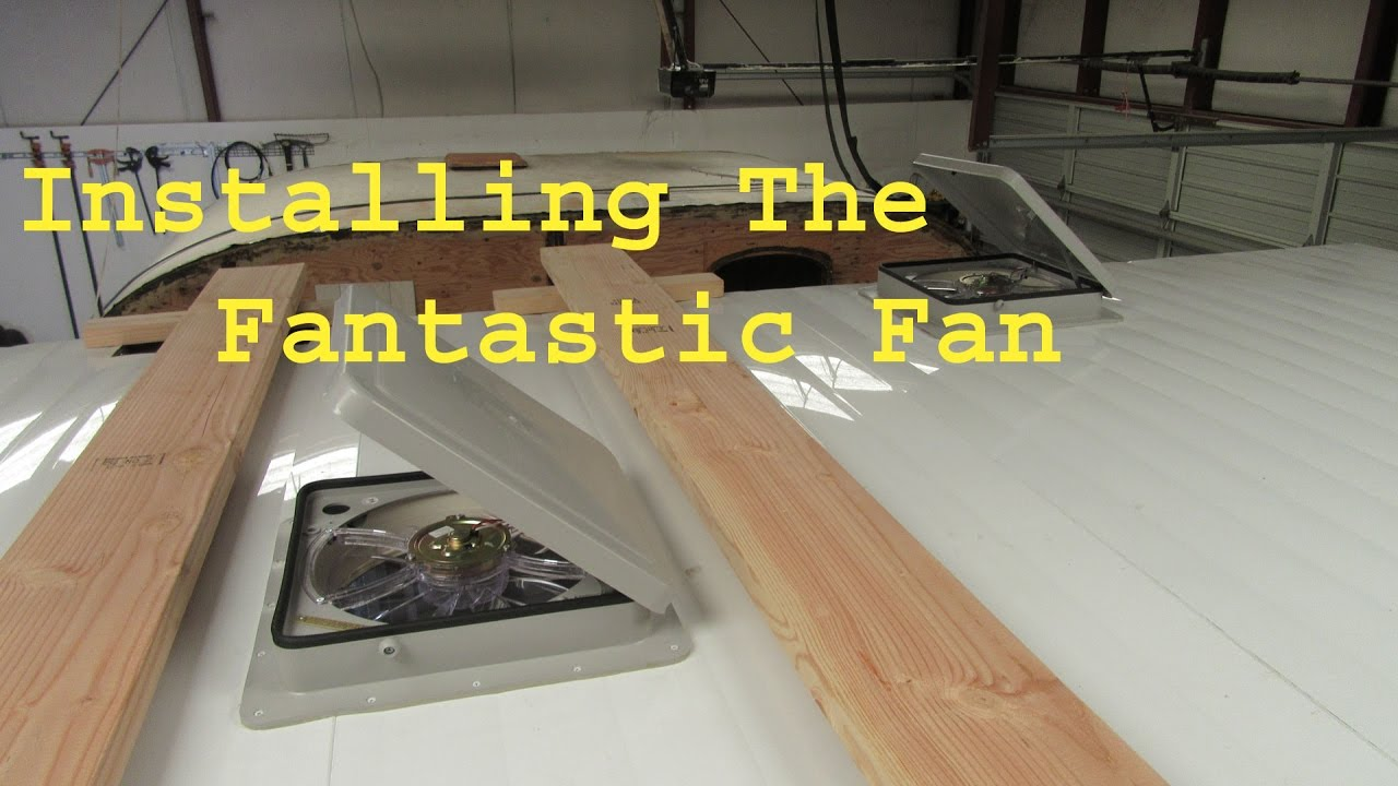 medium resolution of  installing the fantastic fan ceiling vent youtube on refrigerator thermostats wiring diagram