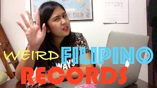 WEIRD FILIPINO WORLD RECORDS