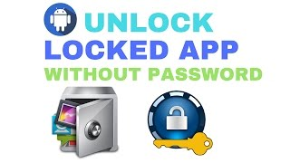How To Unlock Locked App Without Password (Bangla Tutorial) | Mines Of Tech.