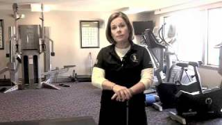 Golf Fitness Assessing Shoulder Flexibility