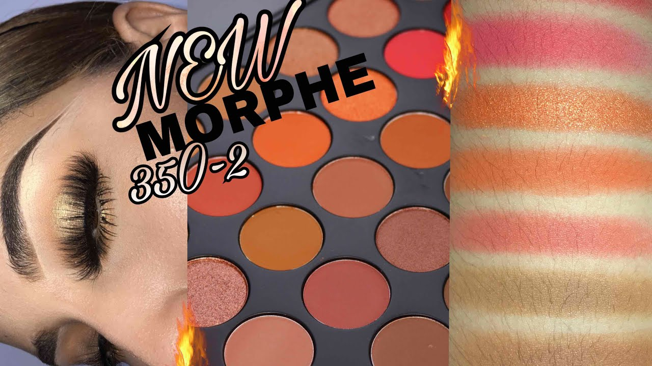 New 35o2 Morphe Nature Eyeshadow Palette Review Youtube