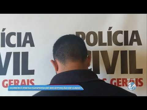 Homem é preso suspeito de receptação de gado em Lima Duarte