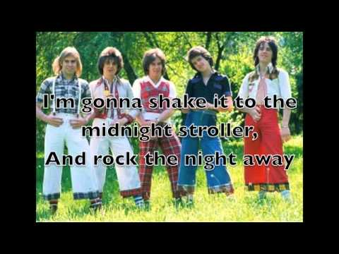 Bay City Rollers- Rock 'N Roller LYRICS ON SCREEN!