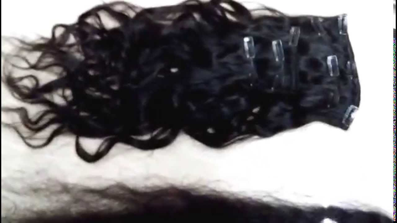 Clip In Indian Virgin Remy Human Hair Extensions Wholesale Supplier
