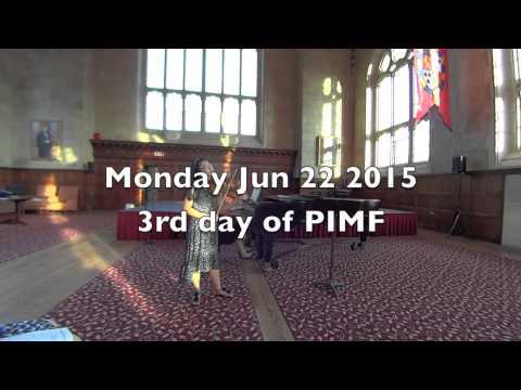 Coming to Philadelphia International Music Festival 2015 (Day 1 to 3)
