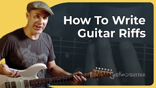 What Is A Guitar Riff - And How To Create One!