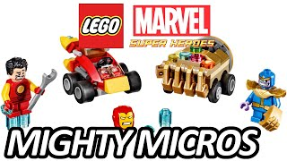 LEGO MARVEL SUPER HEROES 2017 Mighty Micros Sets Revealed - レゴ アベンジャーズ