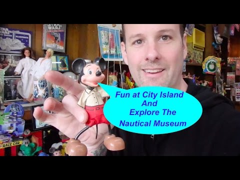 Fun At City Island and Tour Of Nautical Museum, Bronx New York NY 2017