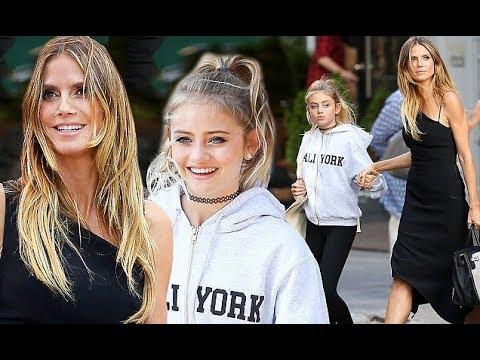 Heidi Klum Stalker Veröffentlich Schock Bilder Von Tochter Leni