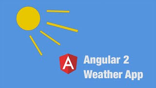Angular 2 Weather App