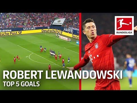 Robert Lewandowski - Top 5 Goals 2019/20 So Far