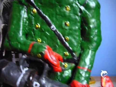 Volgin homemade figure from MGS 3