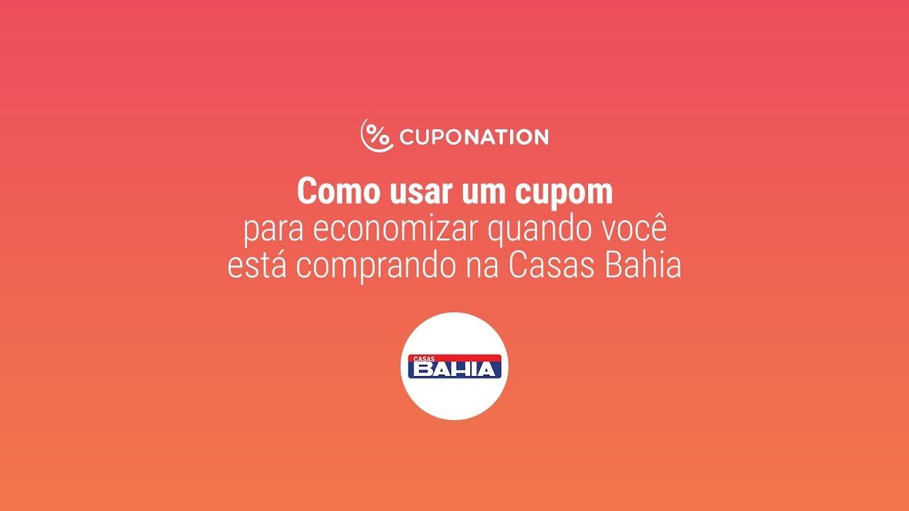 Como usar um Cupom de Desconto Casas Bahia?