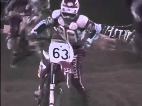 1985 AMA Supercross at San Diego CA