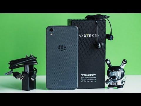 استعراض للهاتف BlackBerry DTEK50