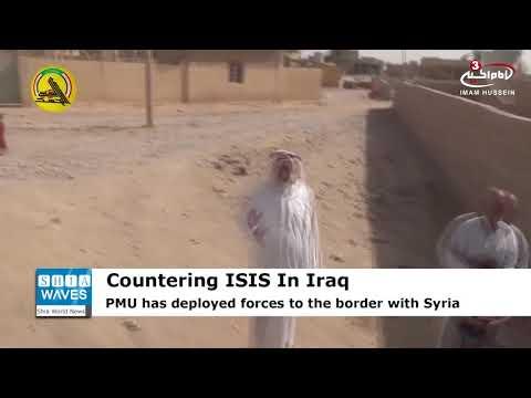 Iraq's Hashd al-Sha'abi forces deployed to Syrian border to back army