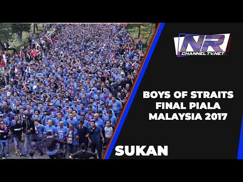 Boys of Straits in action Malaysian Cup Final 2017 @ ohbola