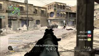 Call of Duty 4 team deathmatch multiplayer gameplay 2013 #3