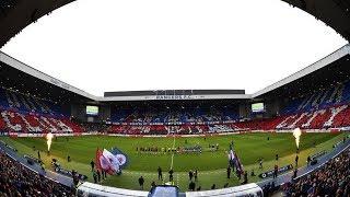 RANGERS 2-0 St Mirren | Union Bears March & Display Footage!