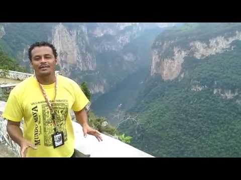 TOUR TO CHIAPAS, CAÑON DEL SUMIDERO IN ENGLISH.