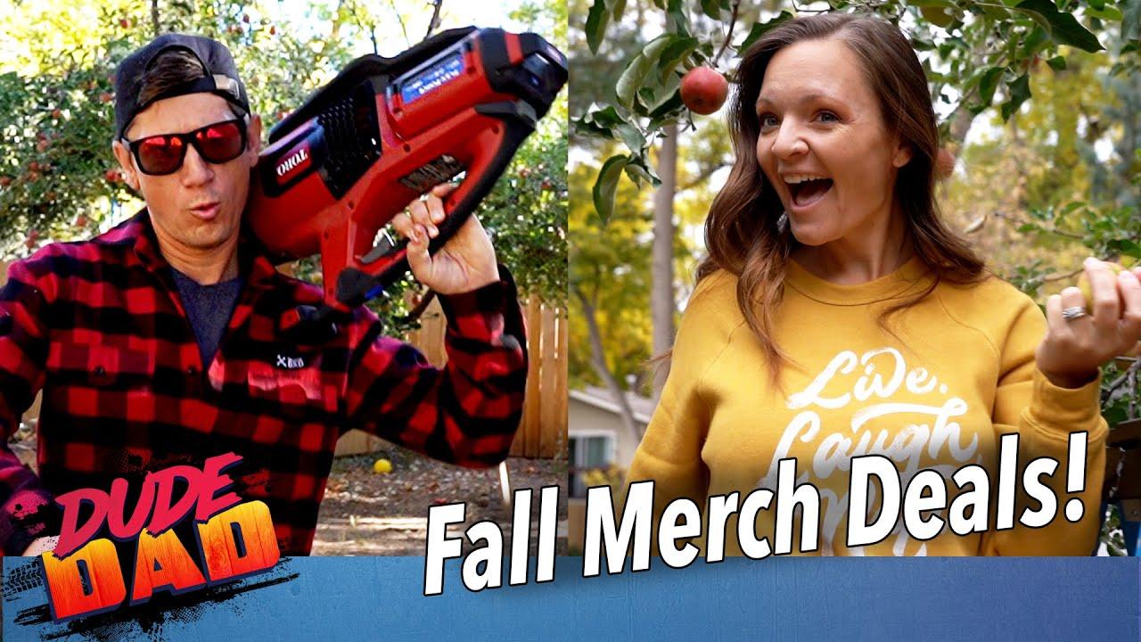Fall Merch Deals!