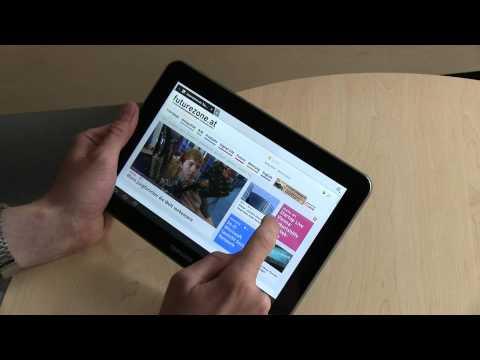 Samsung Galaxy Tab 8.9 Test