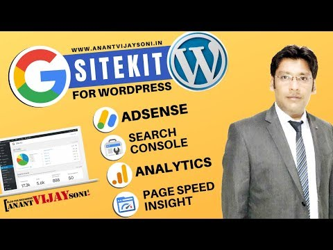 Google SiteKit For Wordpress: Connect Wordpress & Grow — Review and Tutorial in Hindi thumbnail