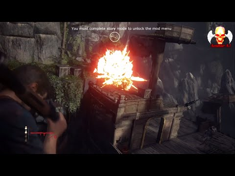 [Uncharted 4] hack Cheat mods (infinite ammo - speed - slow aim - no gravity) tutorial and more !