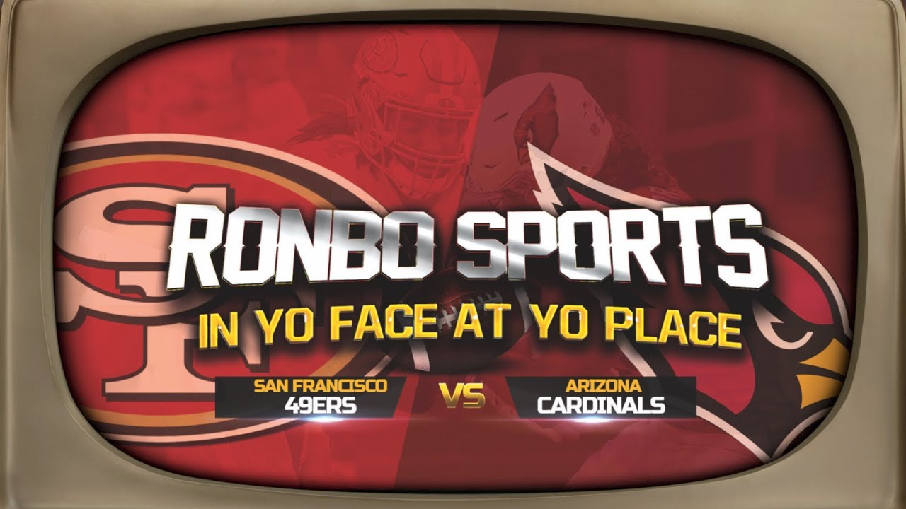 Download Ronbo Sports Watching 49ers VS Cardinals Week 5 2021 Reactions Live!