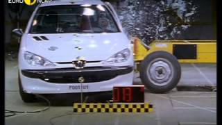Euro NCAP   Peugeot 206   2000   Crash test