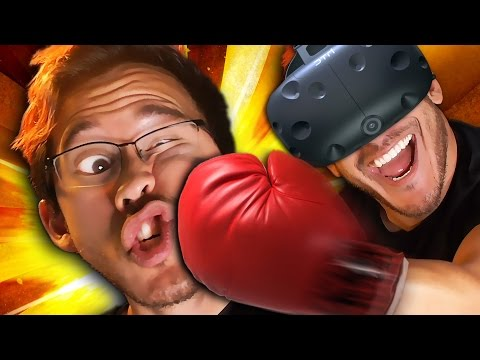 Thumbnail: PUNCHING MY LIGHTS OUT!! | Thrill of the Fight - VIVE