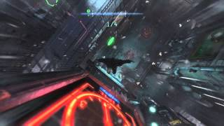 Batman Arkham Origins - Intermediate and advanced AR glide drills