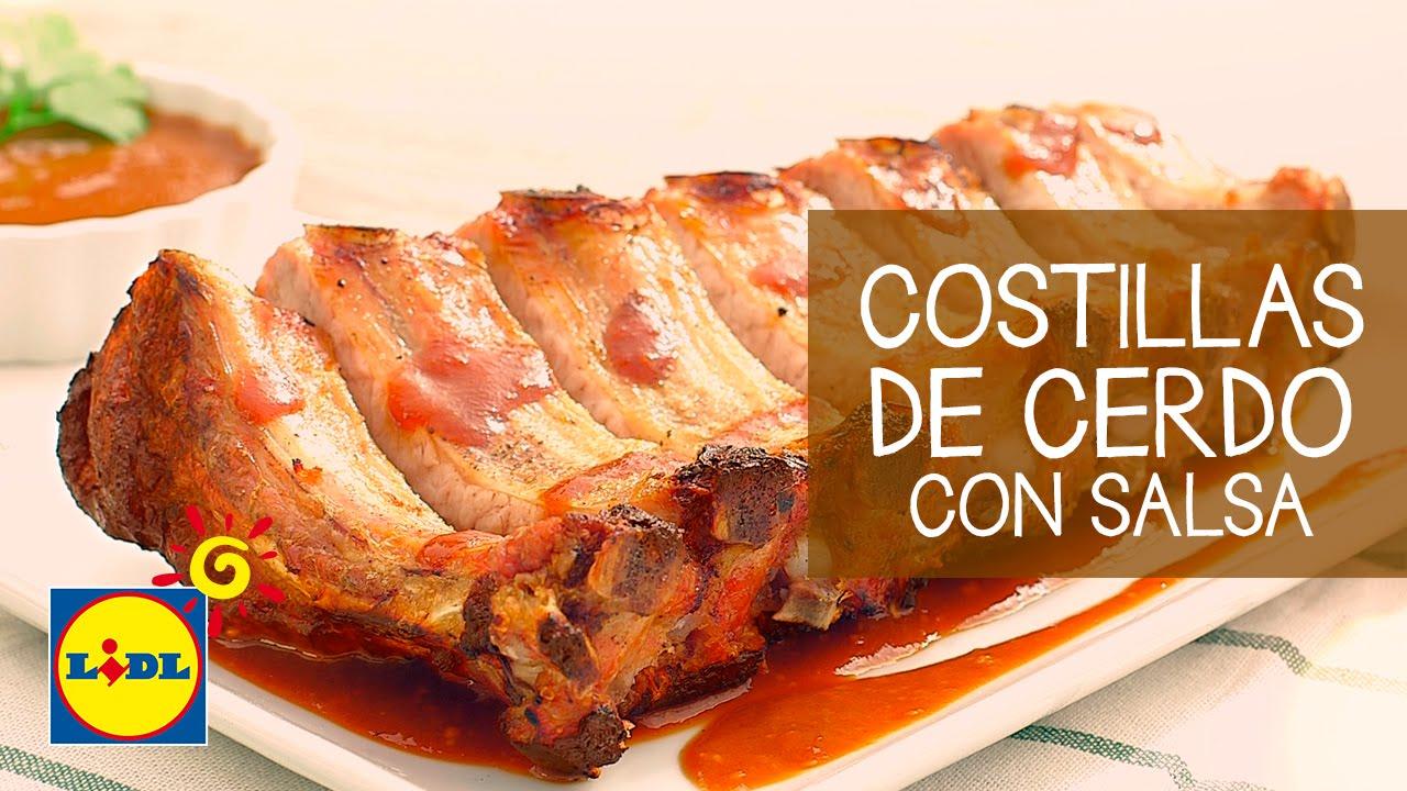 Costillas De Cerdo Con Salsa De Miel Y Mostaza Recetas De Bbq