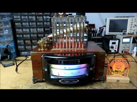 The 'Ether' - A Steampunk Nixie Spectrum Analyser